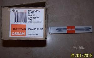 Lampadine alogene Osram R7s 300 Watt