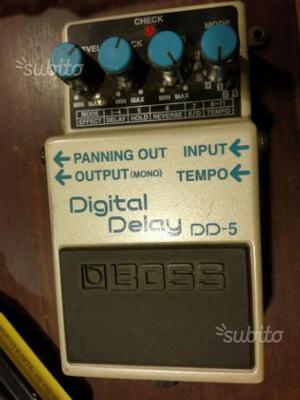Pedale BOSS DD-5 DIGITAL DELAY