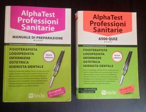 Vendo libri Alpha Test - Professioni Sanitarie NUOVE