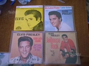 4 45 giri di Elvis Presley (prezzo cadauno)