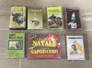 8 Cassette + 2 originali