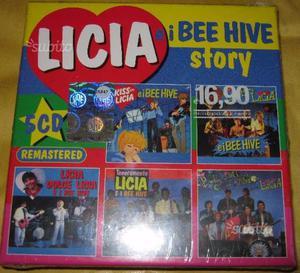 CRISTINA D'AVENA LICIA E I BEE HIVE STORY BOX 5 cd