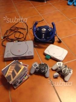 Console ps con videogiochi