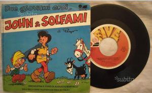 Disco 45 giri - Cartoni animati - John & Solfami
