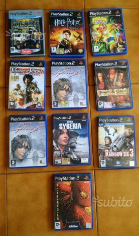 Giochi nintendo 3ds, wii, wii u, playstation 1 e 2