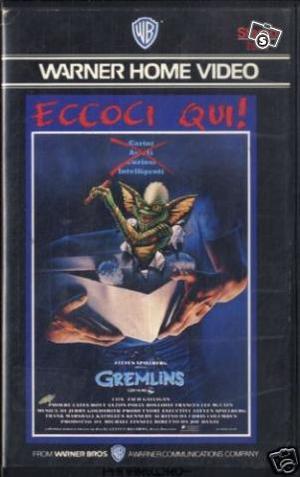 Gremlins videocassetta originale