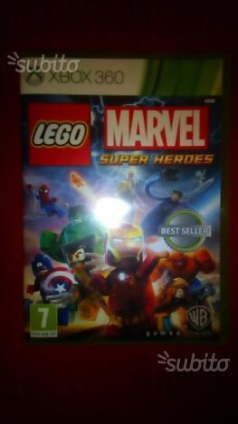 Lego Marvel Super Heroes per XBox360