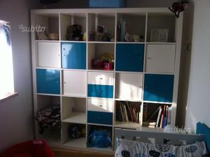 Scaffale ikea legno grezzo 163 x 54regalo lacca posot class - Ikea lack scaffale ...