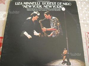 NEW YORK NEW YORK disco doppio vinile colon sonora