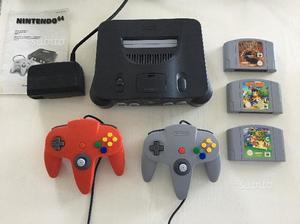 Nintendo 64 + 2 joypad + 3 giochi