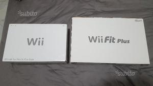 Nintendo Wii + Wii fit plus balance board 2 pad