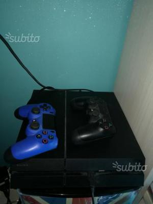 PS 4 1TB 2 joypad e 3 giochi