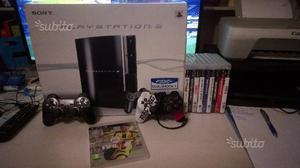 PS3 80GB + 10 giochi