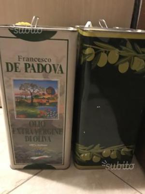 Bidone olio di oliva