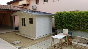 Vidaxl casetta da giardino in legno 2 x 2,1 m 19 mm