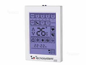 Comando termostato touchscreen infrarossi a parete