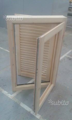 Casette in legno pronte e su misura da roma posot class - Finestre in legno gia pronte ...
