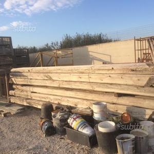 Travi in legno antiche