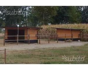 Box per cavalli tutto legno posot class for Box cavalli usati vendo