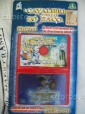 Card games Cavalieri dello zodiaco