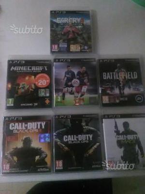 Giochi vari per PS3 da 5 a 10 euro