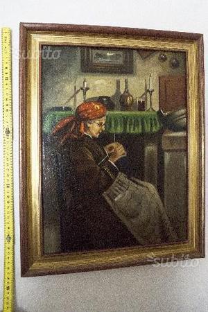 Olio su tela del pittore lanzi
