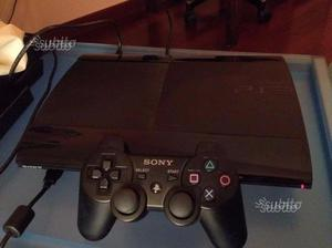 PS3 ULTRASLIM CON Giochi:wwe16-fifa16-fifa17
