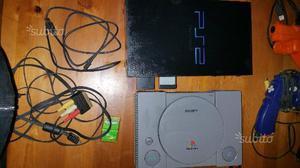 Playstation 1 e 2 play station console giochi ecc