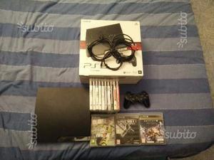 Playstation 3 slim + giochi