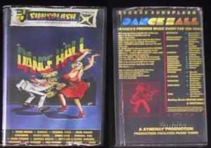 5 VHS Dancehall, Reggae, Dub, Originals LIVE