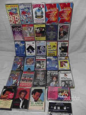 Audio cassette italiane e varie anni