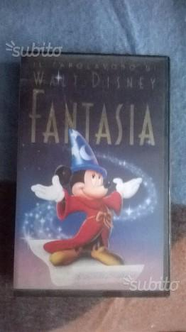Fantasia (VHS, ) Walt Disney rara