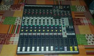 Mixer soundcraft efx 8 canali più