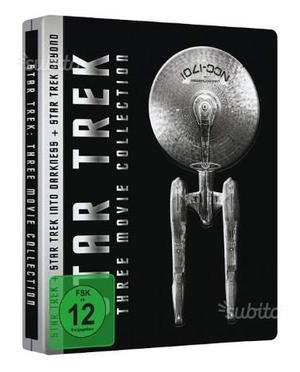 Star Trek Three Movie Collection Steelbook ITA (3