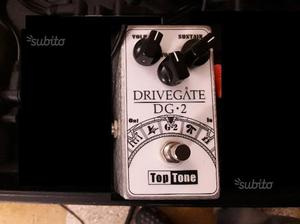 Top tone drivegate dg 2 fuzz overdrive distorsore