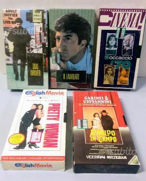 VHS - Videocassette miste - Film