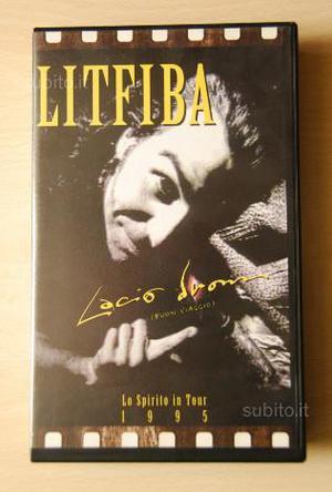 Videocassetta Litfiba Lacio Drom Lo Spirito InTour