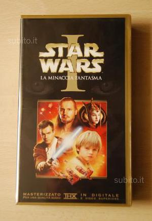 Videocassetta Star Wars I La Minaccia Fantasma