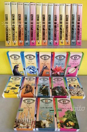 13 VHS Videoenciclopedia dei ragazzi (Piero Angela