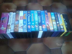 20 film cartone animato vhs walt disney originali
