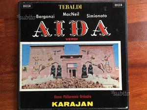 Aida cofanetto vinile edizione Decca