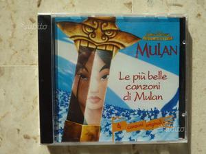 CD musicali originali Disney - Mulan e Tarzan