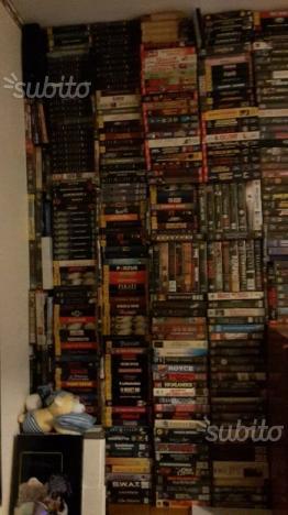 Collezione video cassette