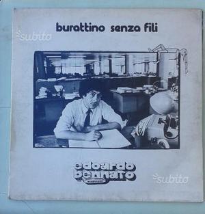 "Disco Edoardo Bennato ""Burattino senza fili"""