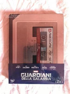 Guardiani della galassia blu ray steelbook