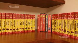 IL MITO FERRARI.m.raccolta di 30 videocassette VHS