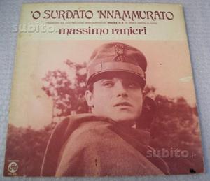 """LP di Massimo Ranieri """"'O surdato 'nnammurato"""""""