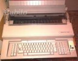 Macchina da scrivere Olivetti ET