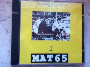 """Mat 65-""""Discografia completa""""-CD a tiratura limita"""