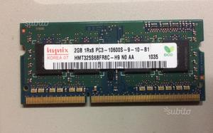 Memoria RAM 2GB Hmt325s6bfr8c 2GB 1Rx8 pc3